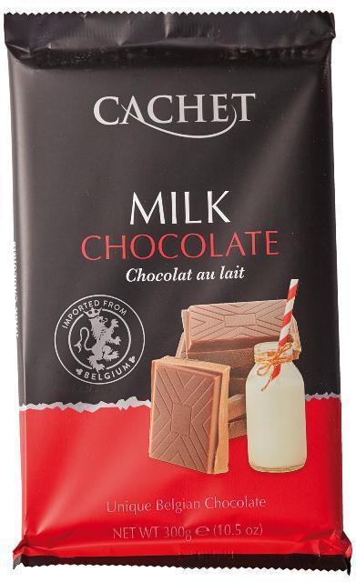 Шоколад Cachet №41 молочний, 300г, 12шт/ящ
