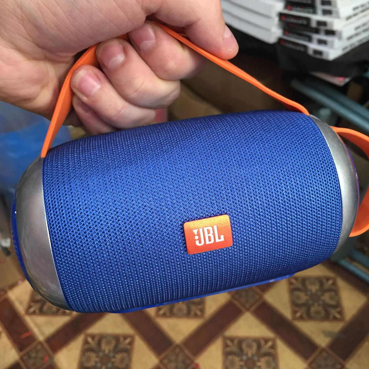 Портативная Bluetooth Колонка JBL TG112 синяя, беспроводная джбл