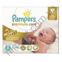 Подгузники Pampers Premium Care New Baby Mini 2 (3-6 кг), 148 шт