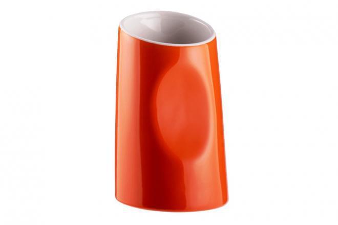 Подставка для зубных щеток и пасты серия Акик оранжевый