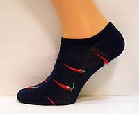 Яркие носки с красными острыми перцами женские