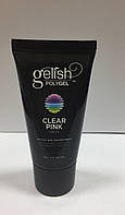 Gelish PolyGel Clear Pink(прозрачно-розовый), 30 грамм