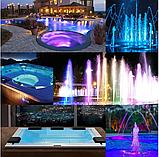 Прожектор светодиодный Aquaviva HT201S 252LED (18 Вт) RGB под бетон / пластик / лайнер, фото 9