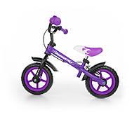 702 Беговел Milly Mally Dragon с тормозом (фиолетовый(Violet))