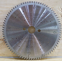 Пильный диск по алюминию СМТ 284.080.10P (Ø250хØ32х80Z)