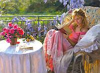 Картины по номерам живопись В мечтах о любви 40х50см.