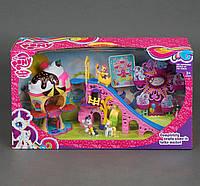 Игровой набор Пони: Парк развлечений, на батарейке, свет, мелодия карусели, в коробке