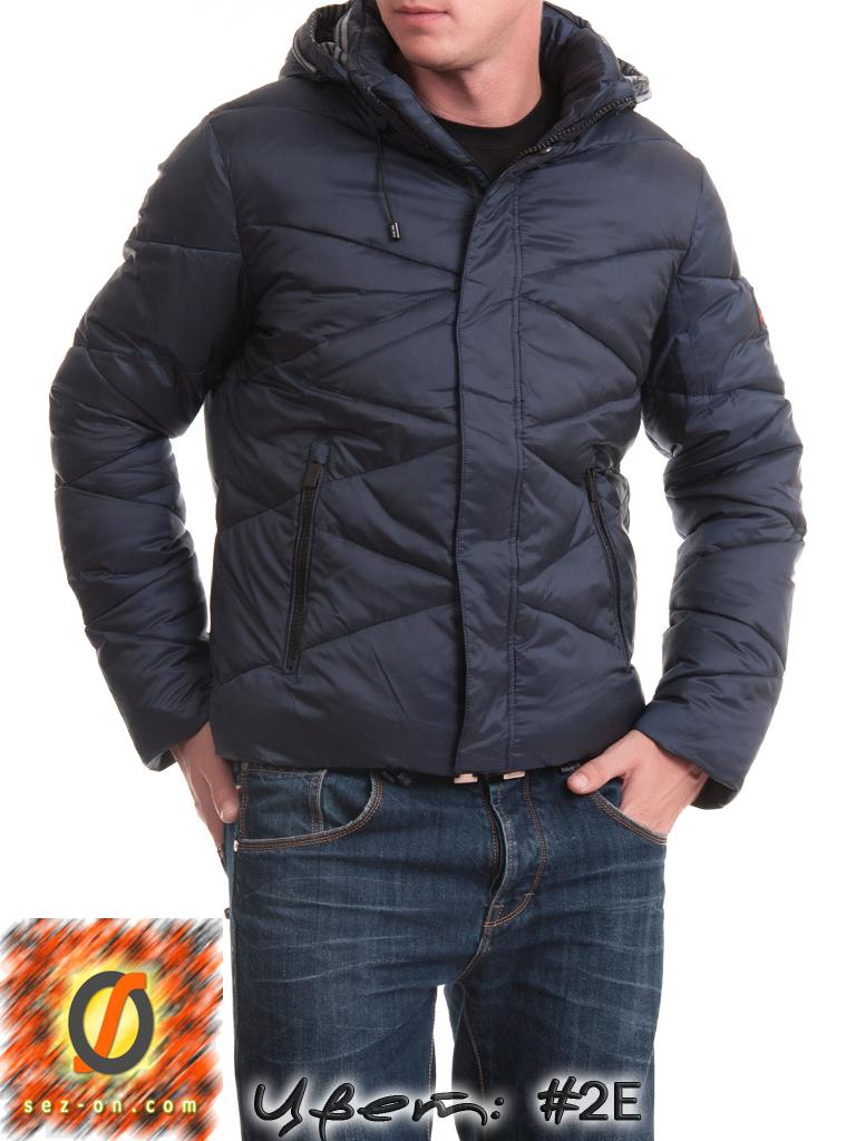 Куртка Malidinu мужская зимняя 14937 наполнитель Тинсулейт. Синий
