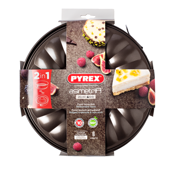 Форма кекс+пирог Pyrex Asimetria, 26 см AS26DT0