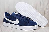 Nike(найк) мужские кеды,скейтера натуральный замш, фото 1