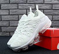 Новинка Кроссовки в стиле Nike Air Max Plus TN 2018 Triple White мужские 5ad3da71504dd