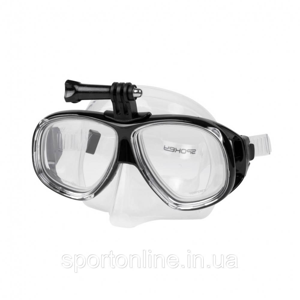 Маска для плавания Spokey Tamuk Camera (original) для взрослых