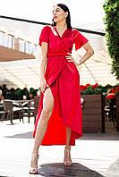 Красное платье AVERILL