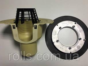 SitaTrendy DN100мм Презентация водосточной воронки с прижимным фланцем и электрообогревом