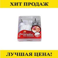 Кондитерский мешок с насадками Decorador Para Confeito