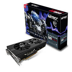 Sapphire PCI-Ex Radeon RX 580 Nitro+ 8GB GDDR5 (256bit) (А15)