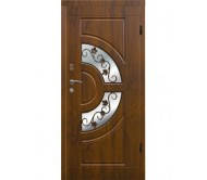 Профильная входная дверь zimen с ковкой