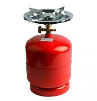 Газовый баллон 2,5 литра с горелкой. Газовый комплект 2.5 л Примус