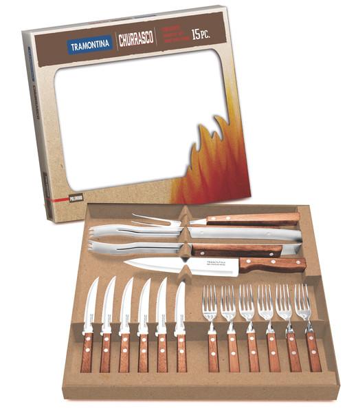 Набор приборов для гриля Tramontina Barbecue, 15 предметов 22399/028
