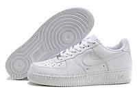 Кроссовки мужские Nike Air Force 1 white низкие, фото 1