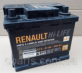 Акумуляторна батарея (47 Ah-420 A) Dacia Solenza (оригінал)