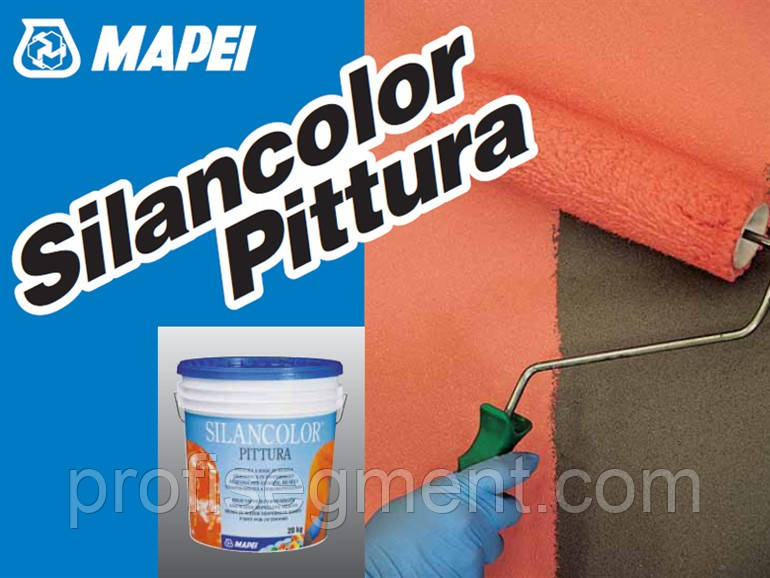 Силиконовая краска для фасадов Silancolor Paint (20 л)