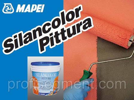 Силиконовая краска для фасадов Silancolor Paint (20 л), фото 2