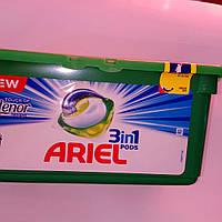 Капсулы для стирки Ариэль для цветных вещей с Ленором Ariel Pods Color  28 шт