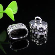 """Концевик  для бисерных жгутов """"Скиф"""", 2 шт., металл, цвет серебро, 20 х 22 мм"""