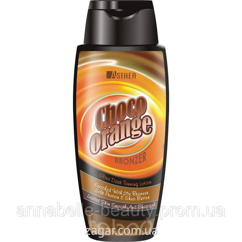 ASTHER Choco Orange Bronzer - 25х. Ультра-темный бронзатор 200мл
