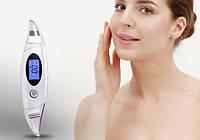 Cкрабер ультразвуковой портативный ZL-S1569 с массажным роликом для глубокой чистки и омоложения лица