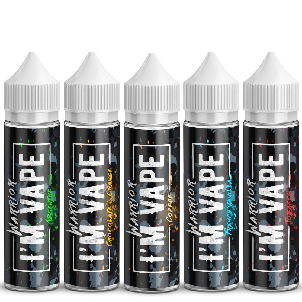 Жидкость для электронных сигарет I'М VAPE Warrior 60 мл