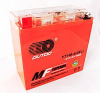 Мото аккумулятор Outdo 12 Ah YT14B - 4 (GEL)