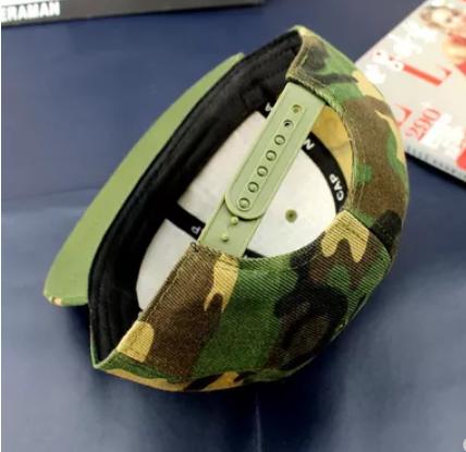 Чистая Камуфляжная кепка с прямым козырьком регулируемый Snapback, фото 2