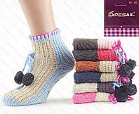 Вязанные носки G 2057-1 Z. В упаковке 12 пар
