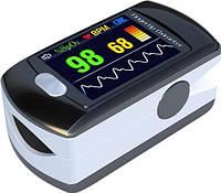 Пульсоксиметр CMS50E цветной OLED дисплей, передача данных на ПК
