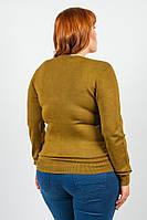Кофта женская с длинным рукавом 816K008-1 (Фисташковый)