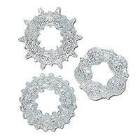 YOU2TOYS Набор силиконовых эрекционных колец из трех штук Stardust Rings