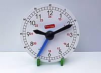 Часы ученические деревянные (макет)