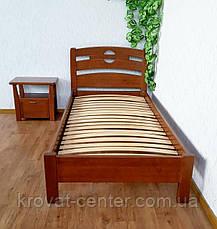 """Ліжко односпальне з масиву натурального дерева """"Сакура"""" від виробника, фото 3"""