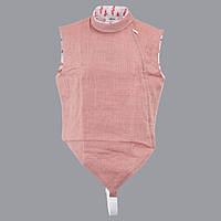 Электрокуртка рапирная с застежкой сбоку Allstar розовая, фото 1