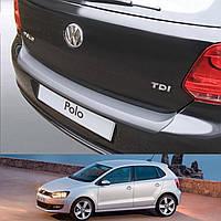 Volkswagen Polo V 3/5dr 2009-2014 пластиковая накладка заднего бампера