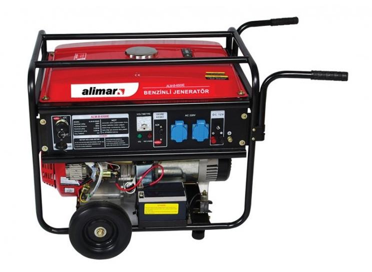 Портативные бензиновые генераторы ALIMAR