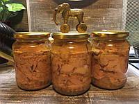 Печень трески натуральная в стеклянной банке (0,720)