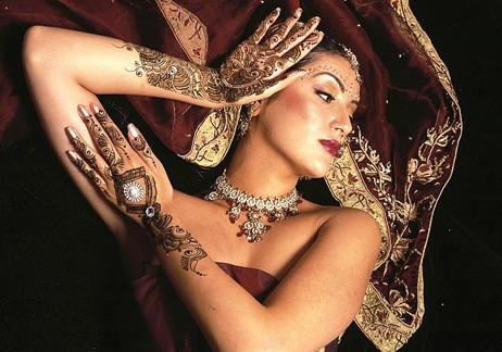 Секреты хны для росписи тела