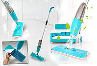 Швабра с распылителем healthy spray mop СИНЯЯ