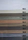 Рулонные шторы День-Ночь Вьюти натурал B-618 ореховый, фото 3
