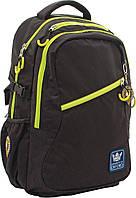 """Рюкзак подростковый Х230 """"Oxford"""", черный, 30.5*13*47см"""