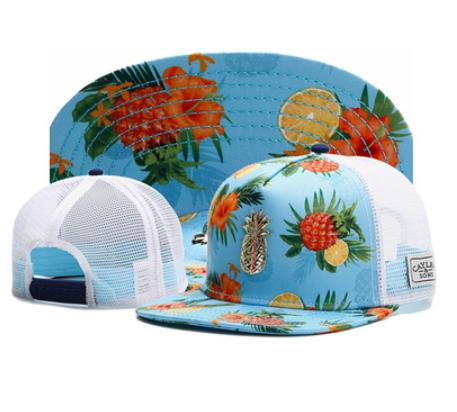 Летняя яркая голубая кепка с сеткой тракер регулируемый Snapback, фото 2