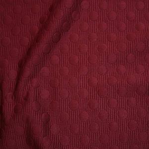Стеганный трикотаж бордовый